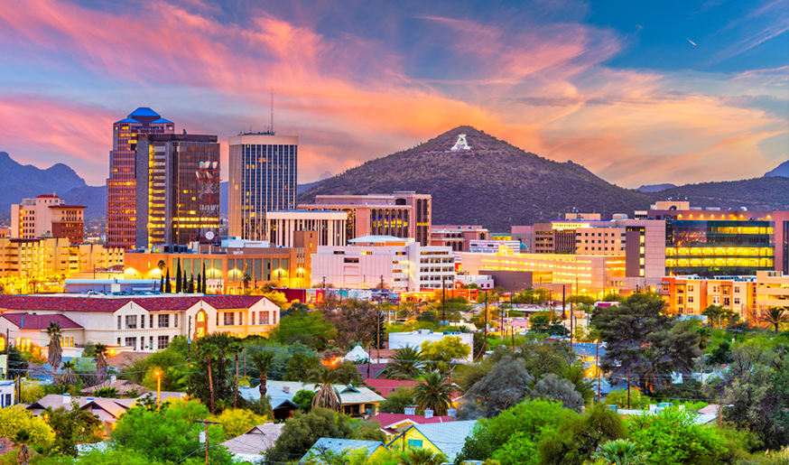 Image of Downtown Tucson in Arizona