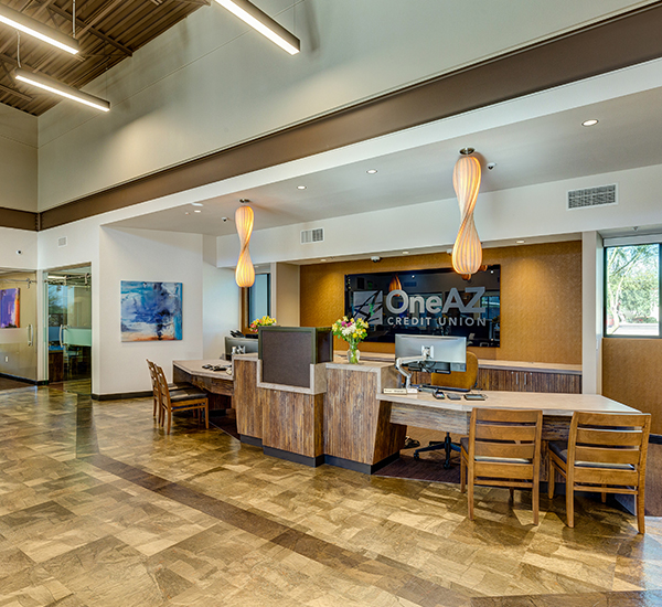 OneAZ Credit Union Oro Valley branch - interior 3