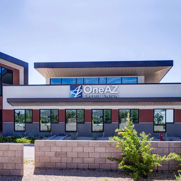 OneAZ Credit Union Happy Valley branch - street view