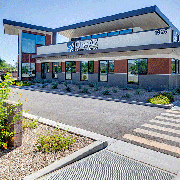 OneAZ Credit Union Happy Valley branch - drive through
