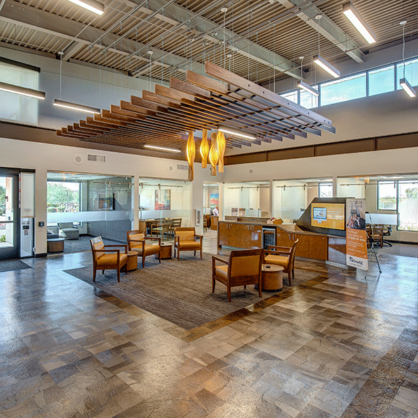 OneAZ Credit Union Happy Valley branch - interior 2