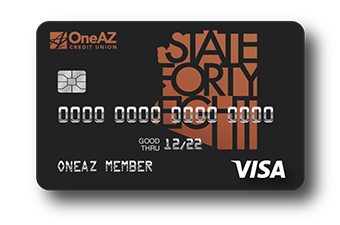 Visa State Forty Eight credit card from OneAZ Credit Union